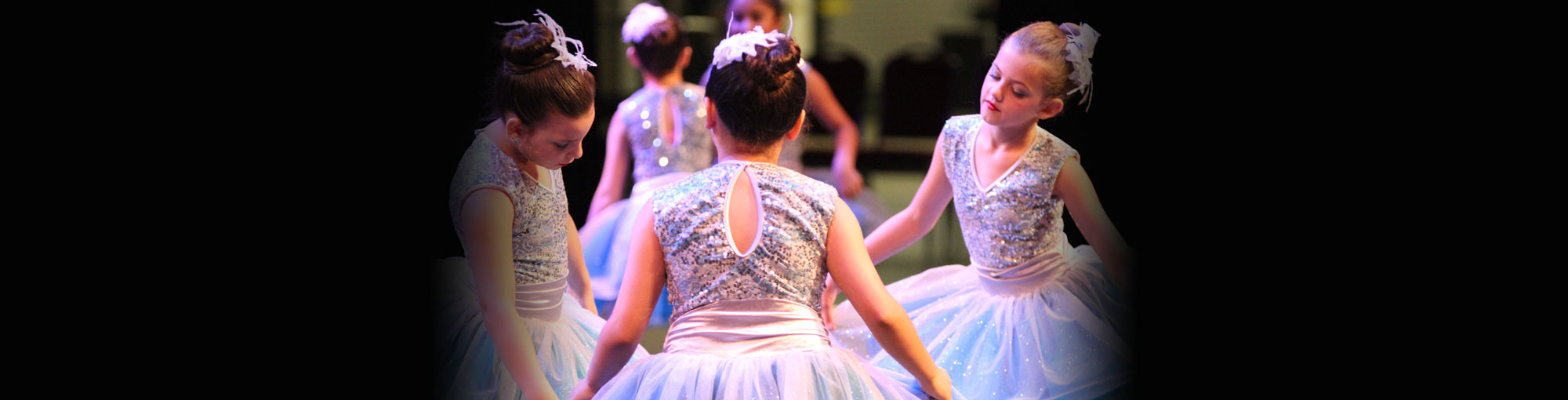 Young Ballet Dancers Performing